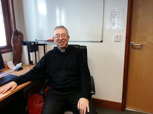 Reverend Mark Hayton