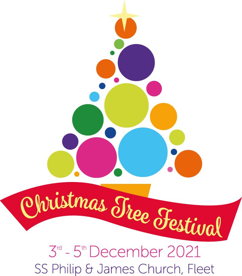 christmas tree festival logo